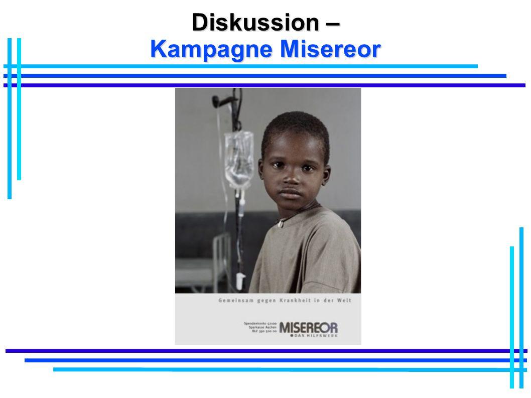 Diskussion – Kampagne Misereor