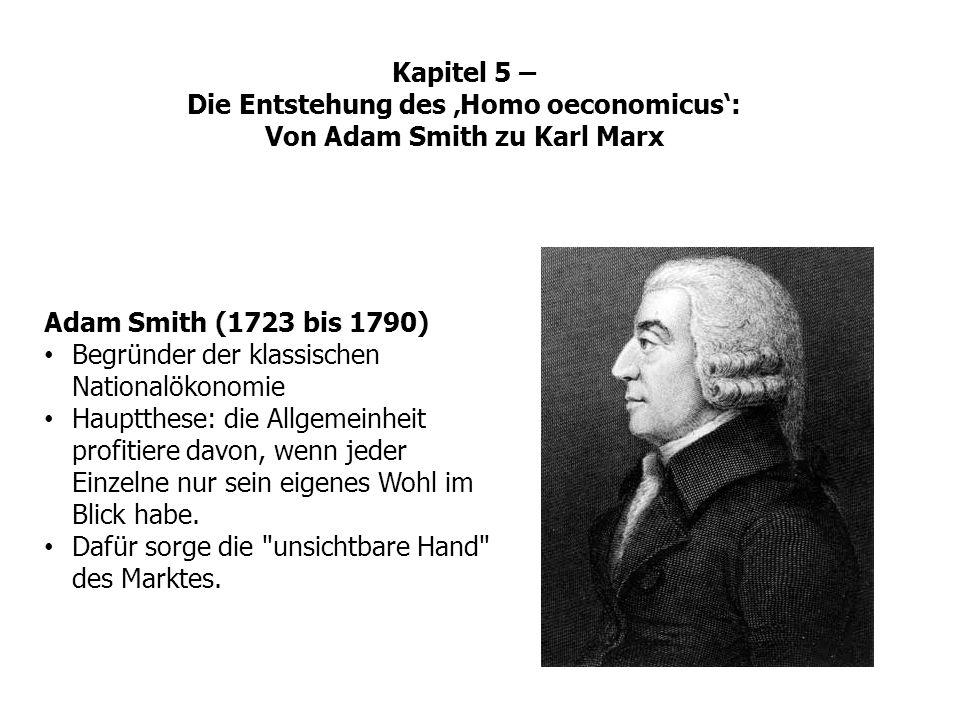 Begründer der klassischen Nationalökonomie