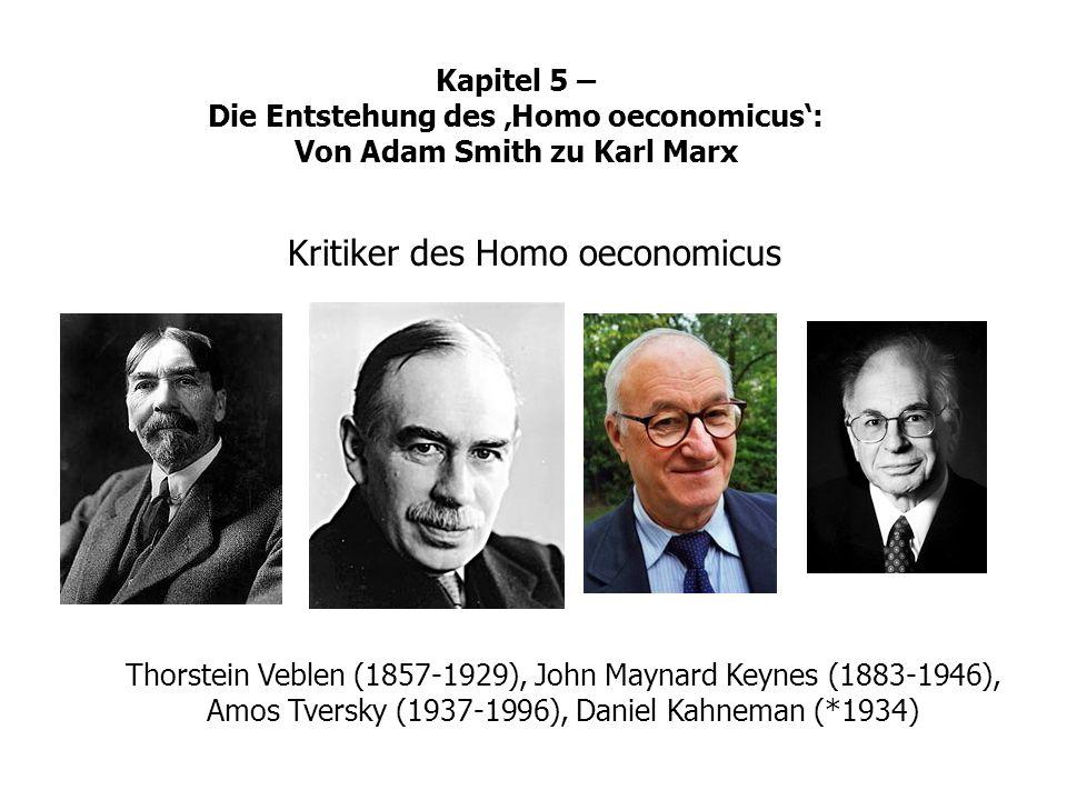 Kritiker des Homo oeconomicus