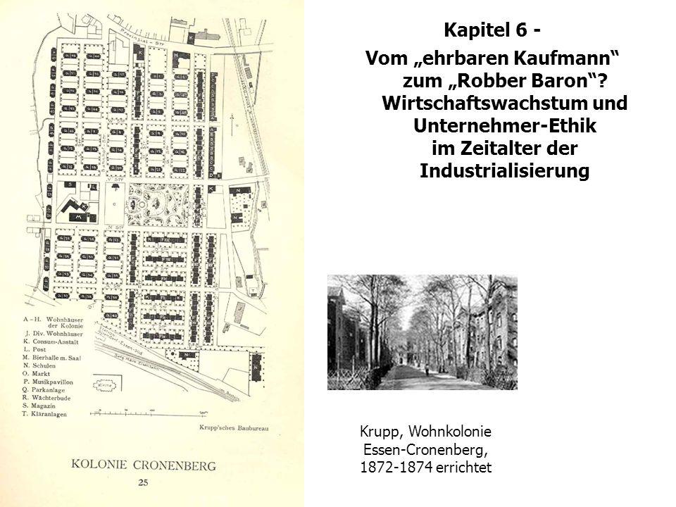 Krupp, Wohnkolonie Essen-Cronenberg, 1872-1874 errichtet
