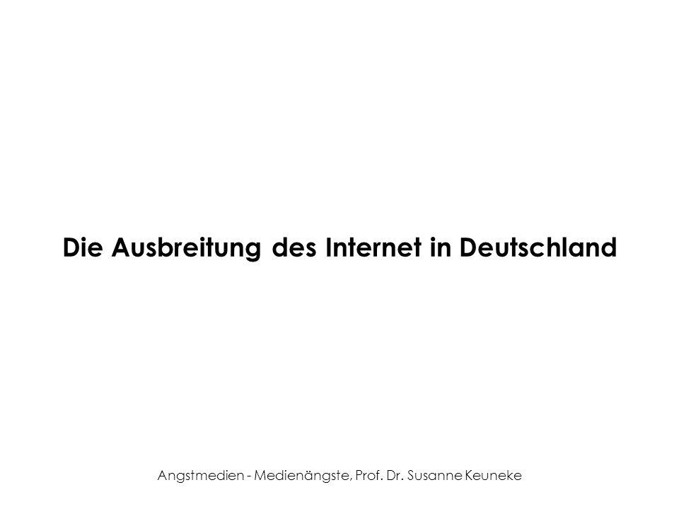 Die Ausbreitung des Internet in Deutschland