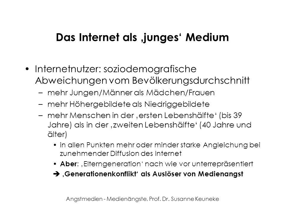 Das Internet als 'junges' Medium