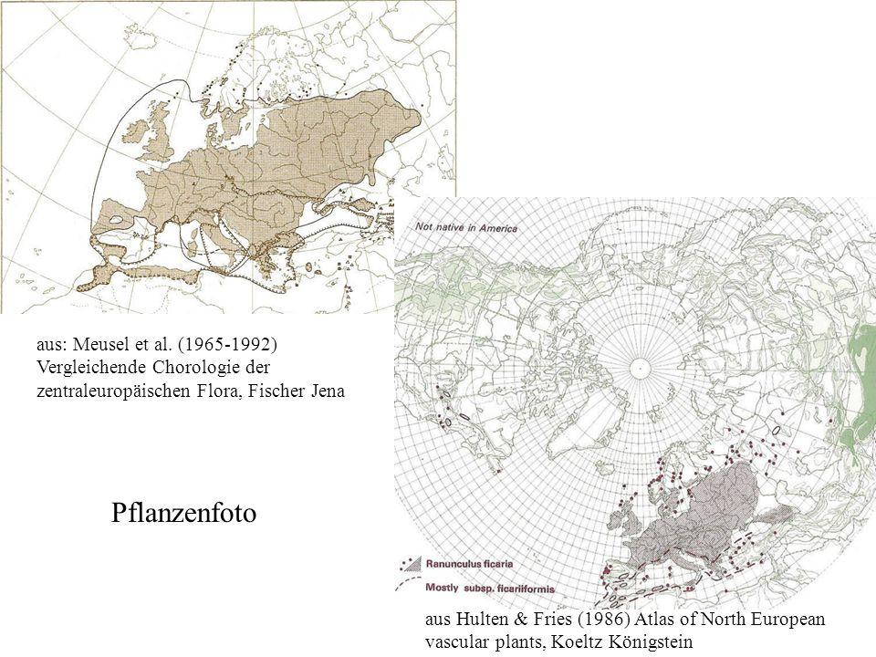 aus: Meusel et al. (1965-1992) Vergleichende Chorologie der zentraleuropäischen Flora, Fischer Jena
