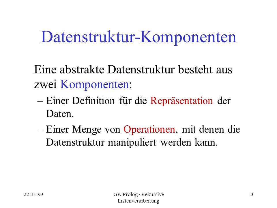 Datenstruktur-Komponenten