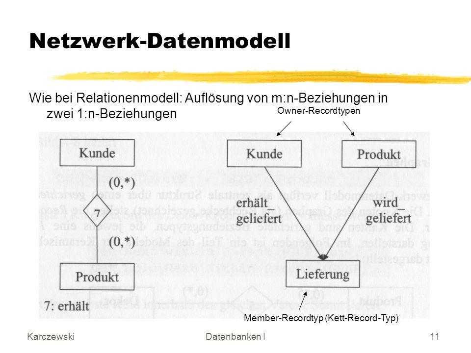 Netzwerk-Datenmodell