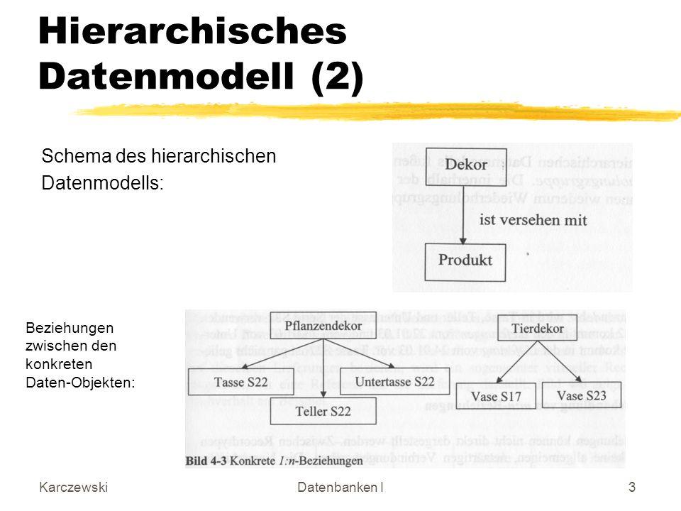 Hierarchisches Datenmodell (2)