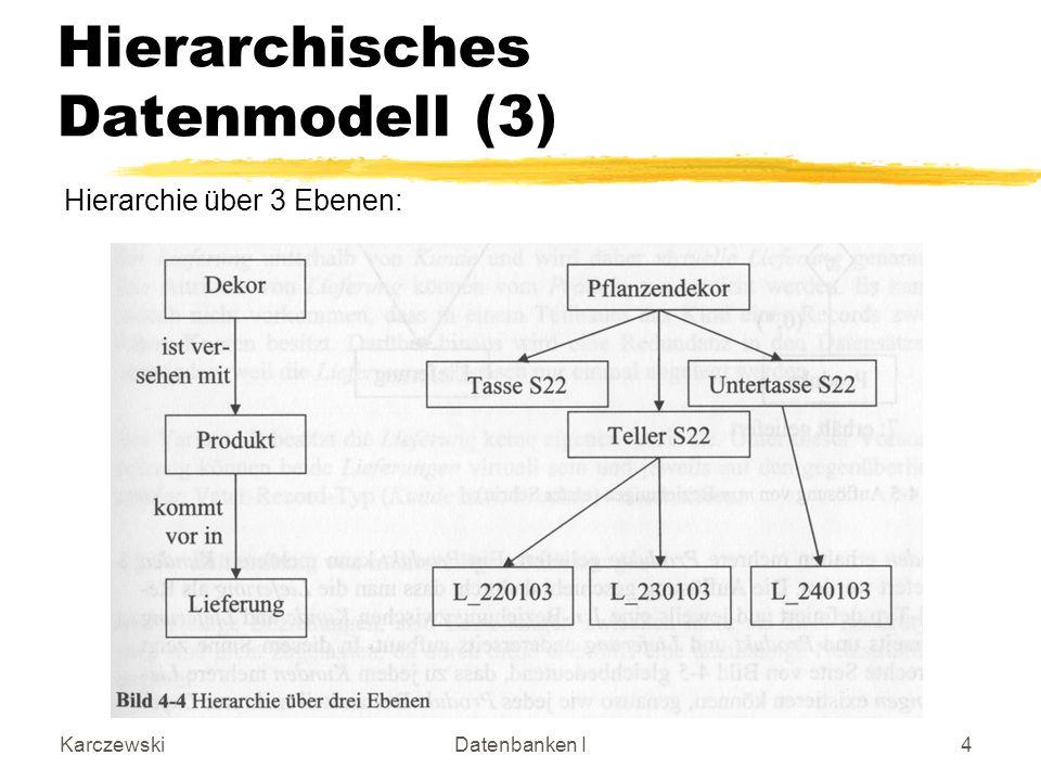 Hierarchisches Datenmodell (3)