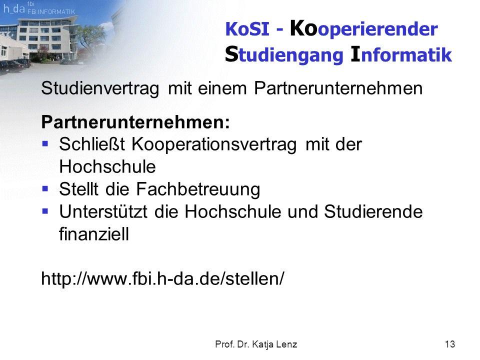 KoSI - Kooperierender Studiengang Informatik