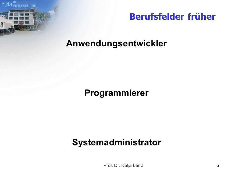 Anwendungsentwickler