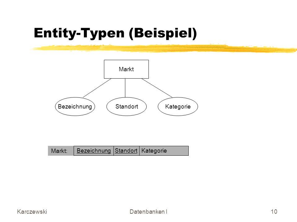 Entity-Typen (Beispiel)