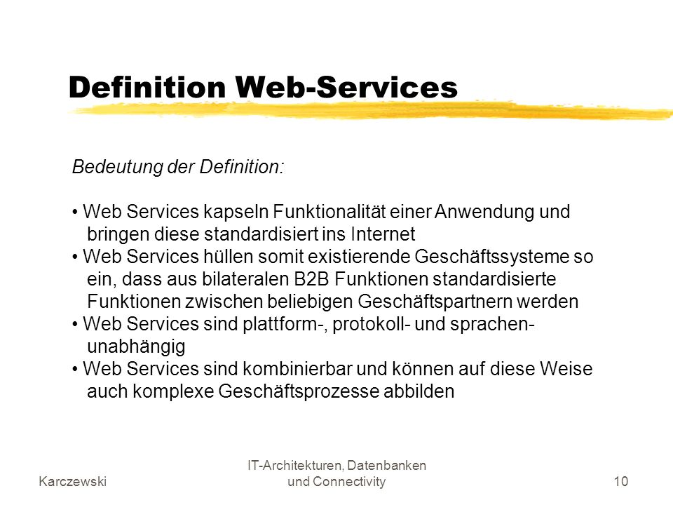 Definition Web-Services