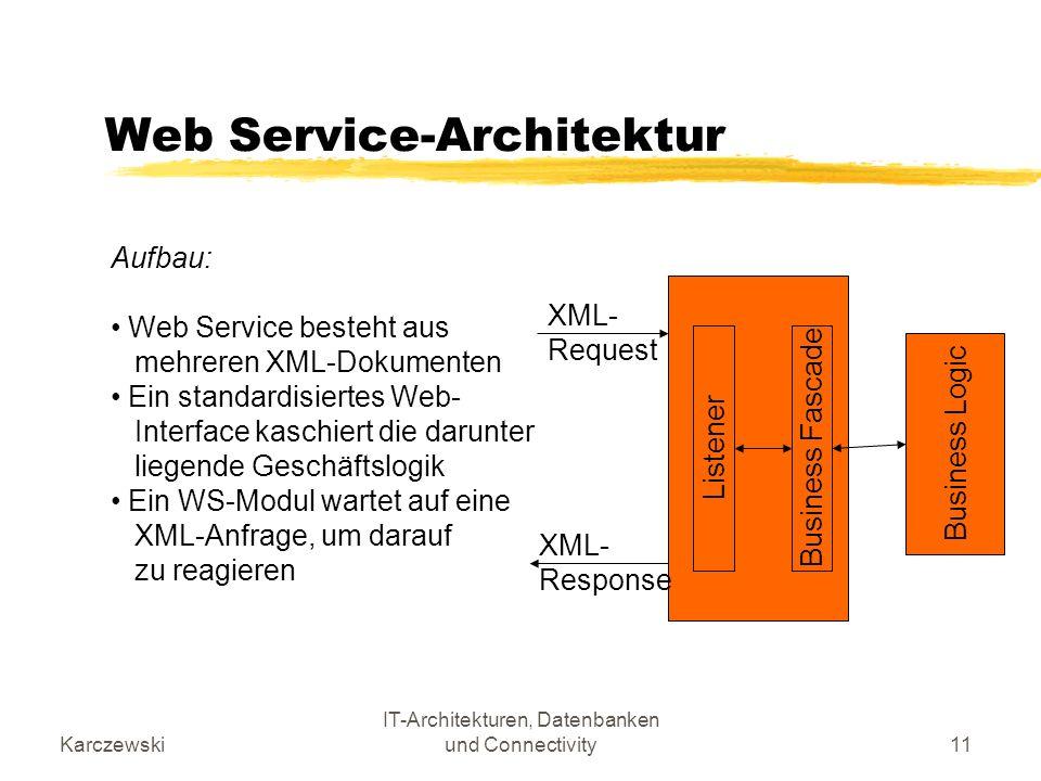 Web Service-Architektur