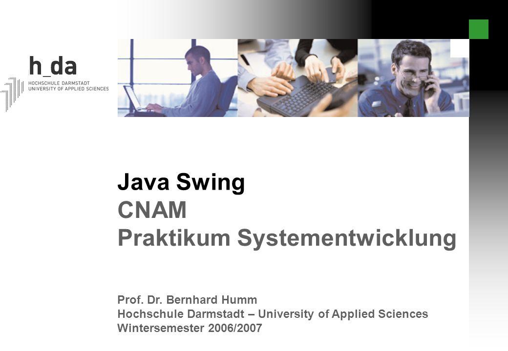 Praktikum Systementwicklung