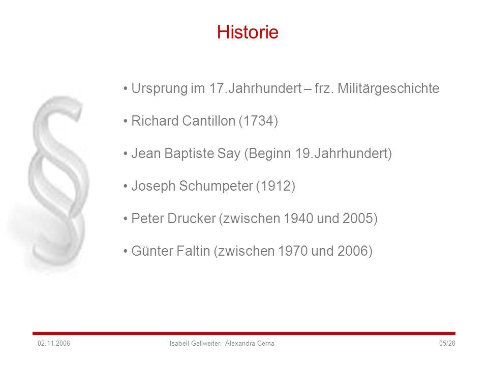 Historie Ursprung im 17.Jahrhundert – frz. Militärgeschichte