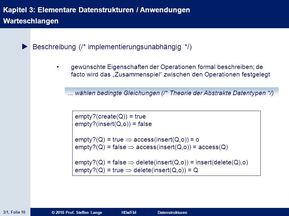 Beschreibung (/* implementierungsunabhängig */)