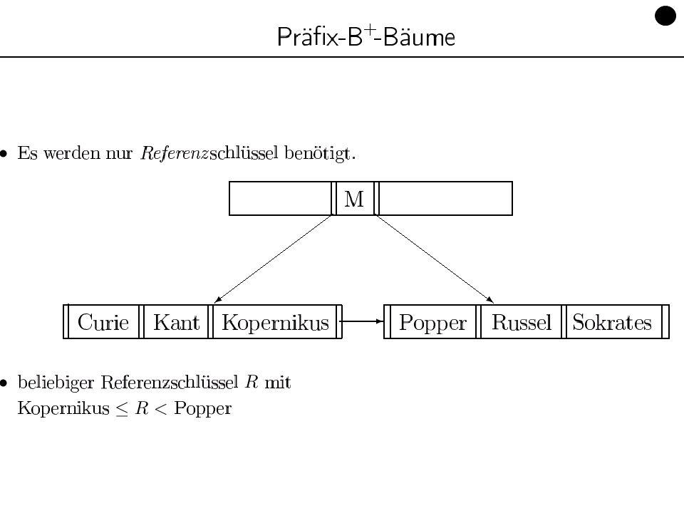 Datenbanken, SS 12 Kapitel 9: Datenorganisation