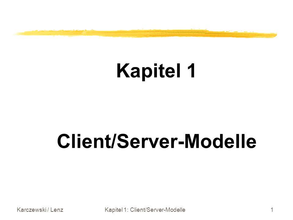 Client/Server-Modelle