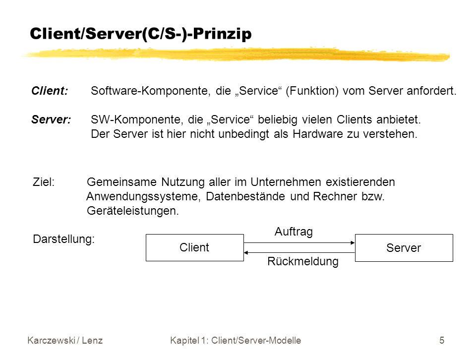 Kapitel 1: Client/Server-Modelle