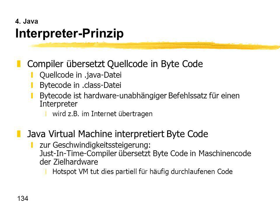 4. Java Interpreter-Prinzip