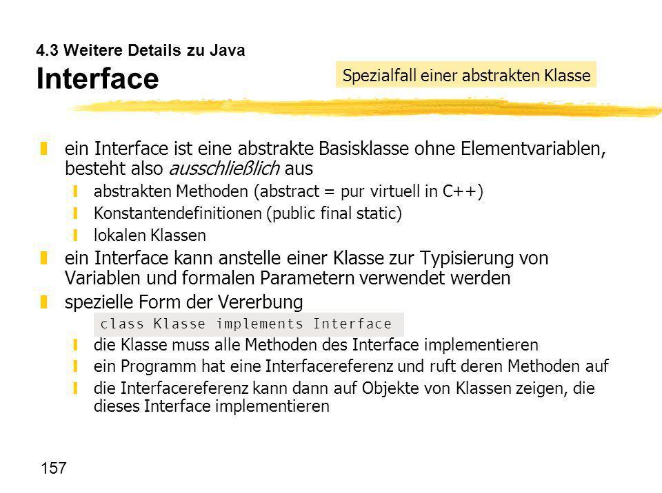 4.3 Weitere Details zu Java Interface