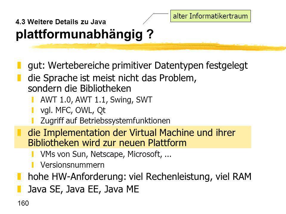 4.3 Weitere Details zu Java plattformunabhängig
