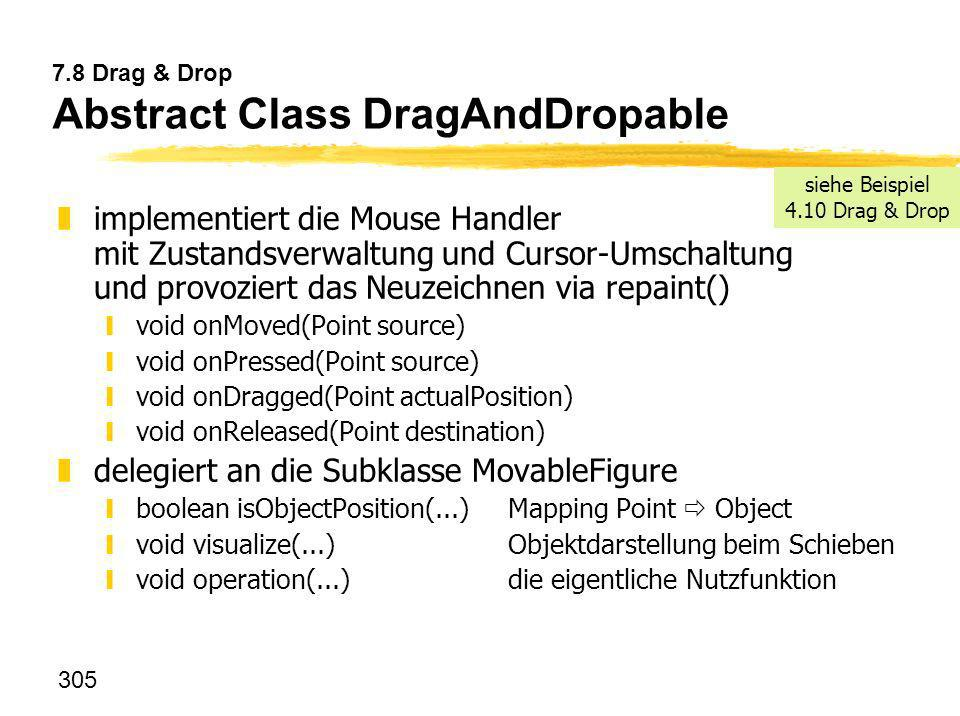 7.8 Drag & Drop Abstract Class DragAndDropable