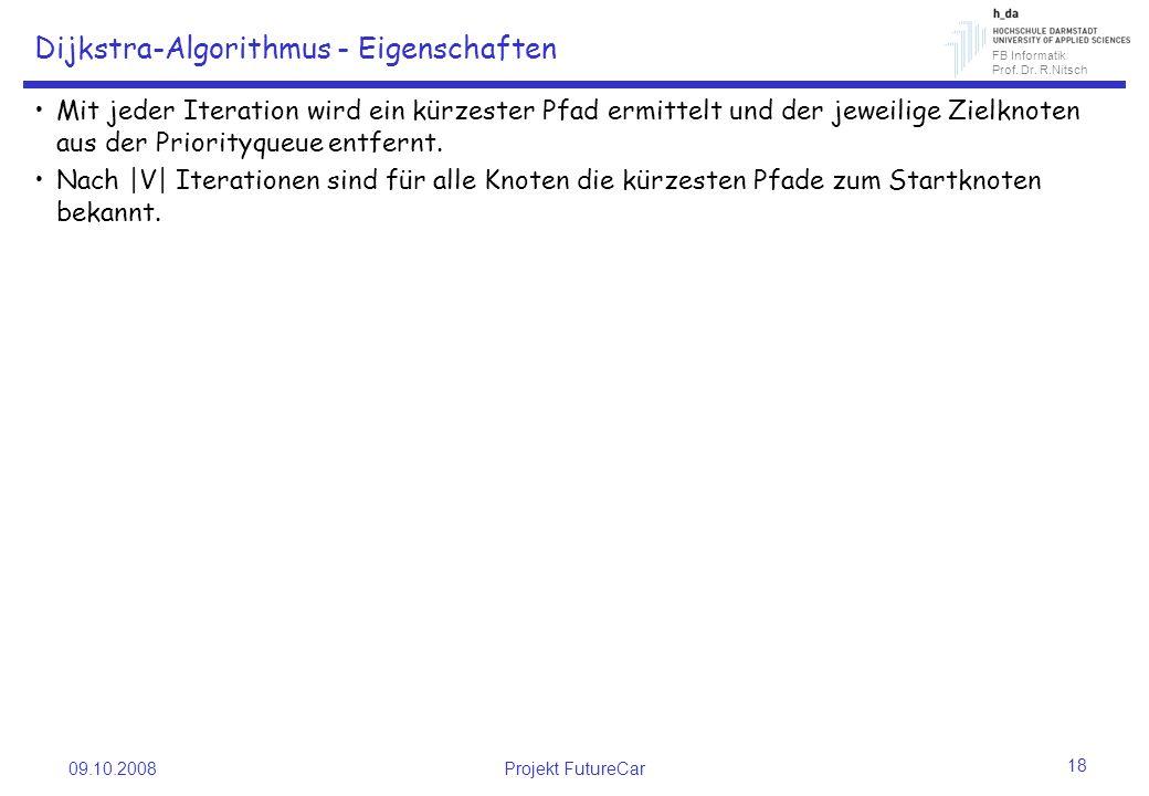 Dijkstra-Algorithmus - Eigenschaften