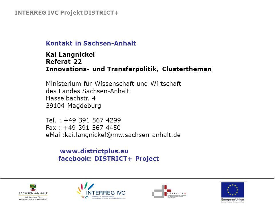 www.districtplus.eu Kontakt in Sachsen-Anhalt