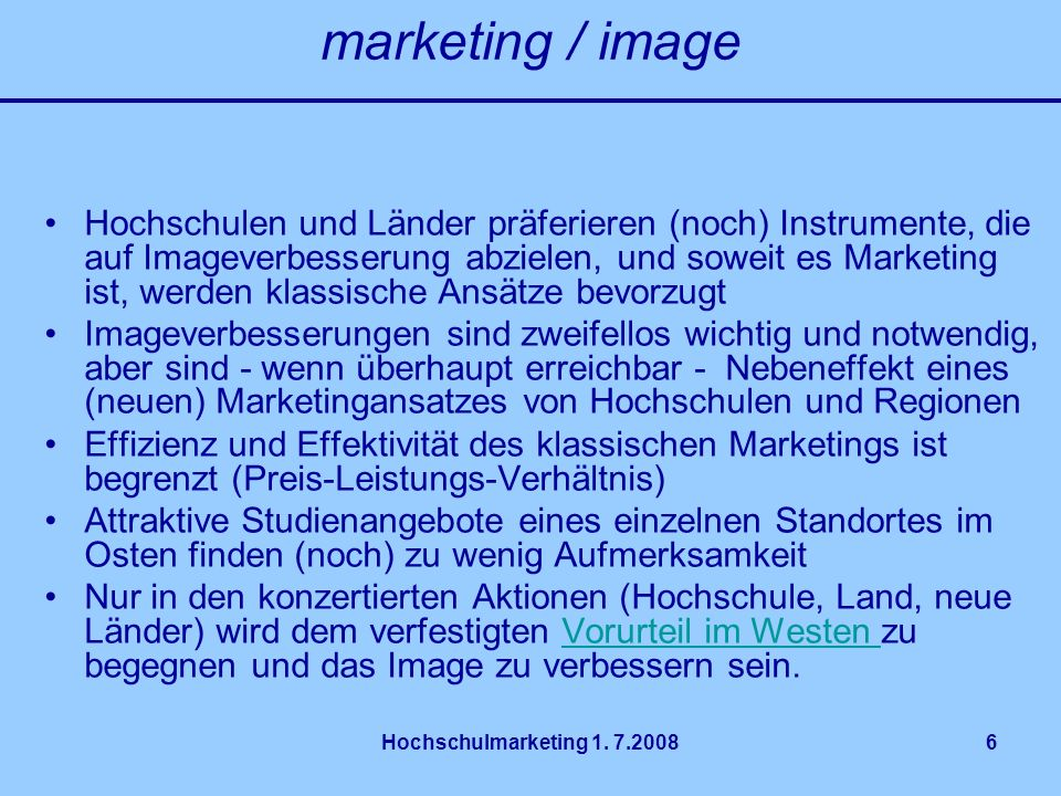 marketing / image