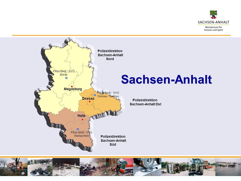 Sachsen-Anhalt Polizeidirektion Sachsen-Anhalt Nord Magdeburg Dessau
