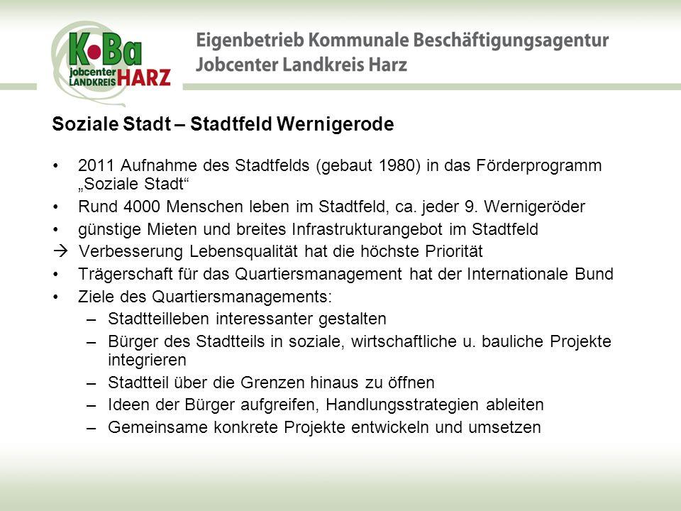 Soziale Stadt – Stadtfeld Wernigerode