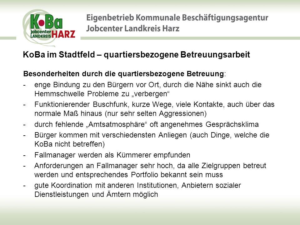 KoBa im Stadtfeld – quartiersbezogene Betreuungsarbeit