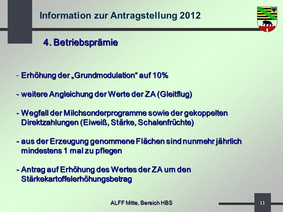 """4. Betriebsprämie Erhöhung der """"Grundmodulation auf 10%"""