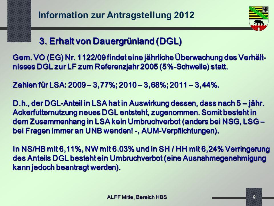 3. Erhalt von Dauergrünland (DGL)