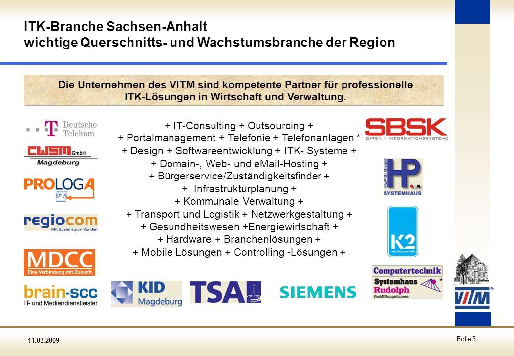 ITK-Branche Sachsen-Anhalt wichtige Querschnitts- und Wachstumsbranche der Region