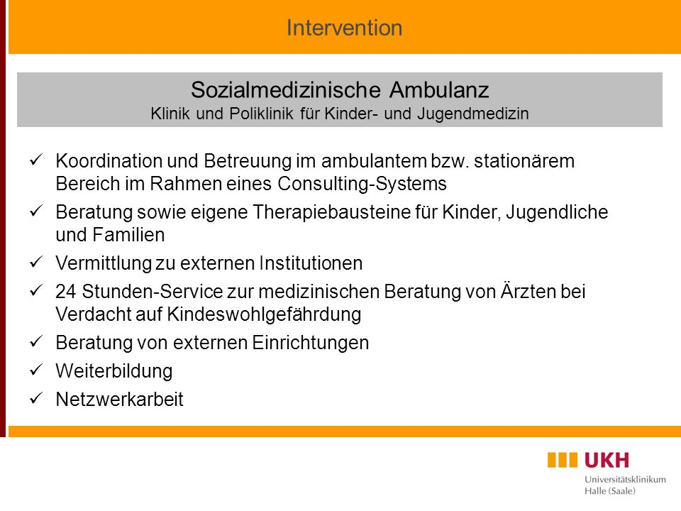 Sozialmedizinische Ambulanz
