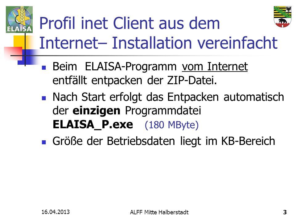 Profil inet Client aus dem Internet– Installation vereinfacht