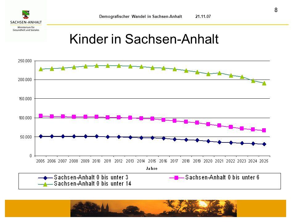 Kinder in Sachsen-Anhalt