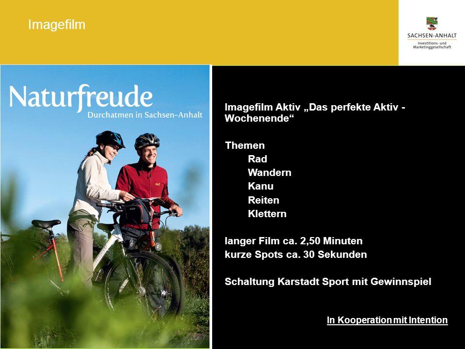"Imagefilm Imagefilm Aktiv ""Das perfekte Aktiv - Wochenende Themen Rad"