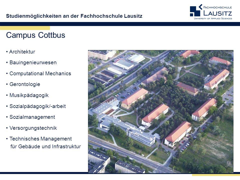 Campus Cottbus Architektur Bauingenieurwesen Computational Mechanics
