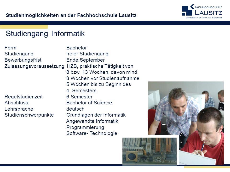 Studiengang Informatik