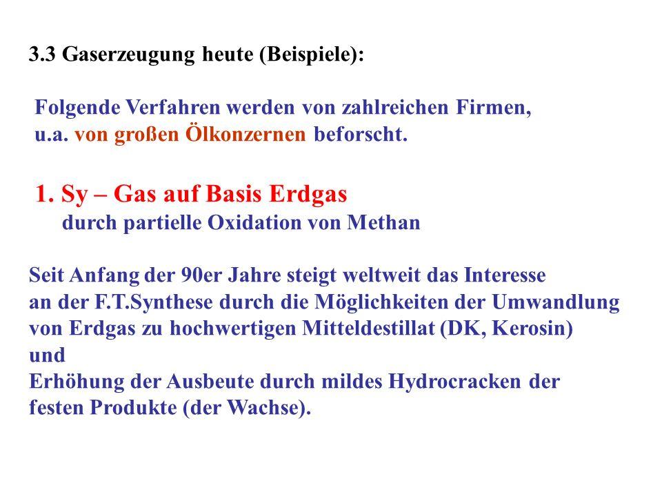1. Sy – Gas auf Basis Erdgas