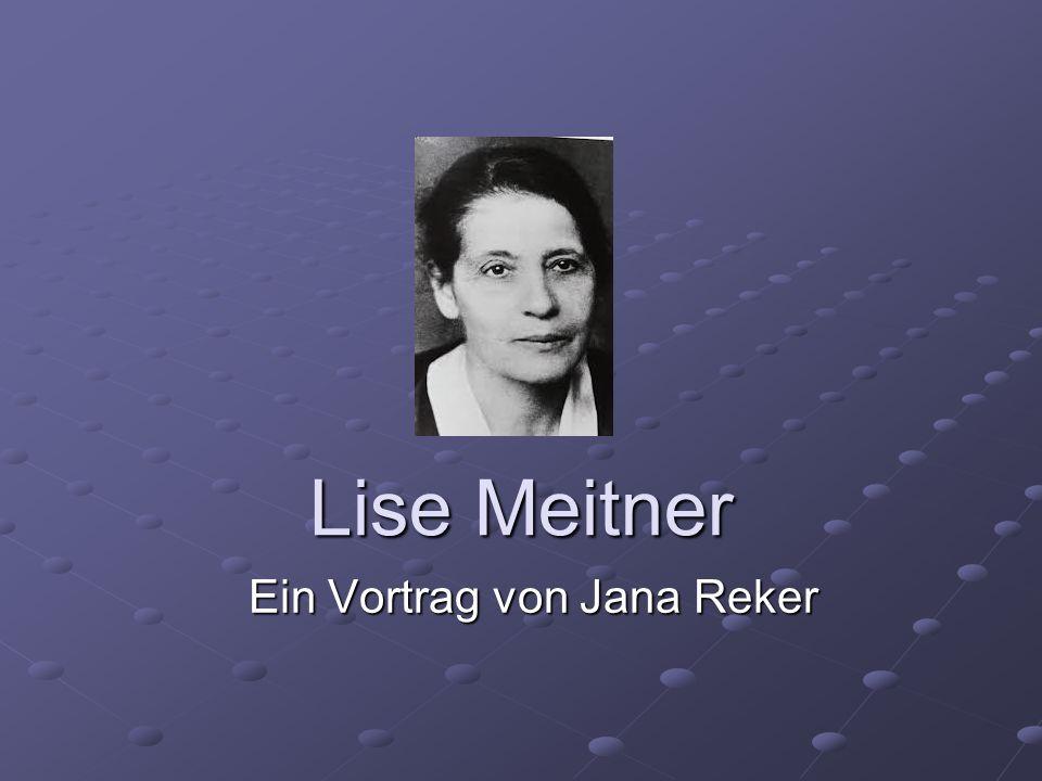 Ein Vortrag von Jana Reker