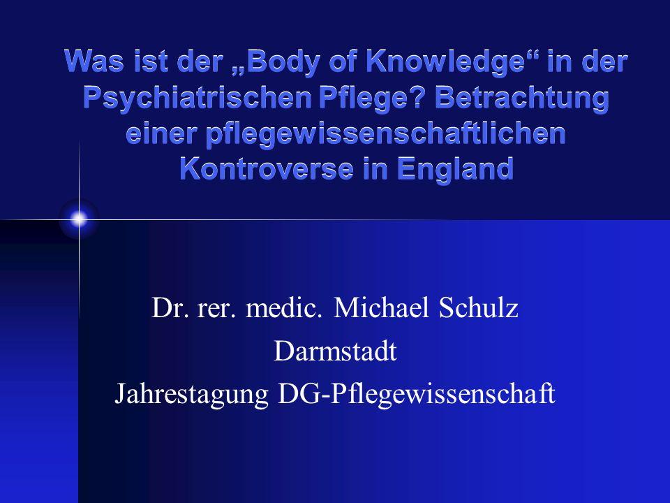 Dr. rer. medic. Michael Schulz Darmstadt