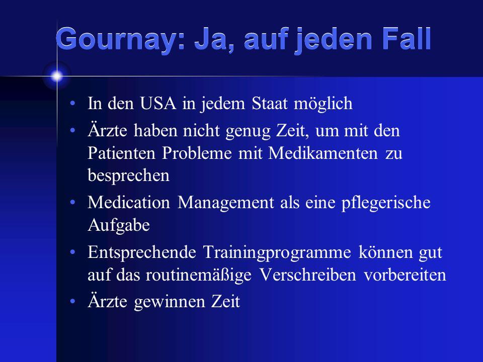 Gournay: Ja, auf jeden Fall