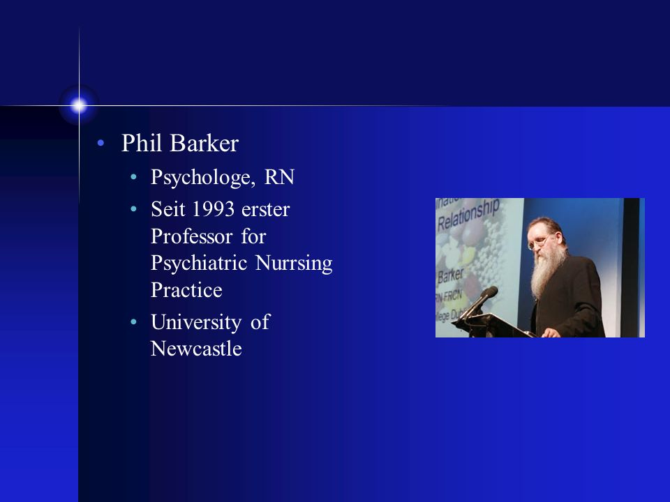 Phil Barker Psychologe, RN