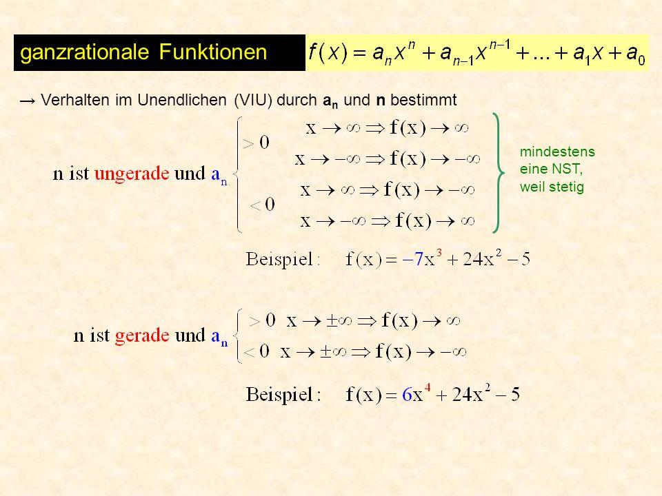 ganzrationale Funktionen