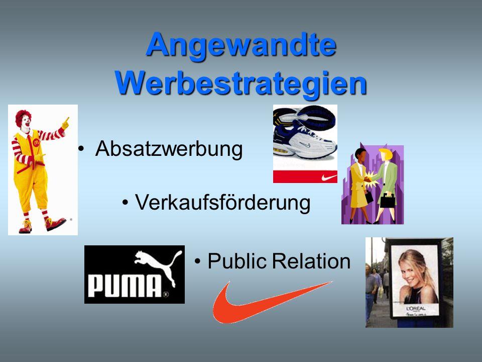 Angewandte Werbestrategien