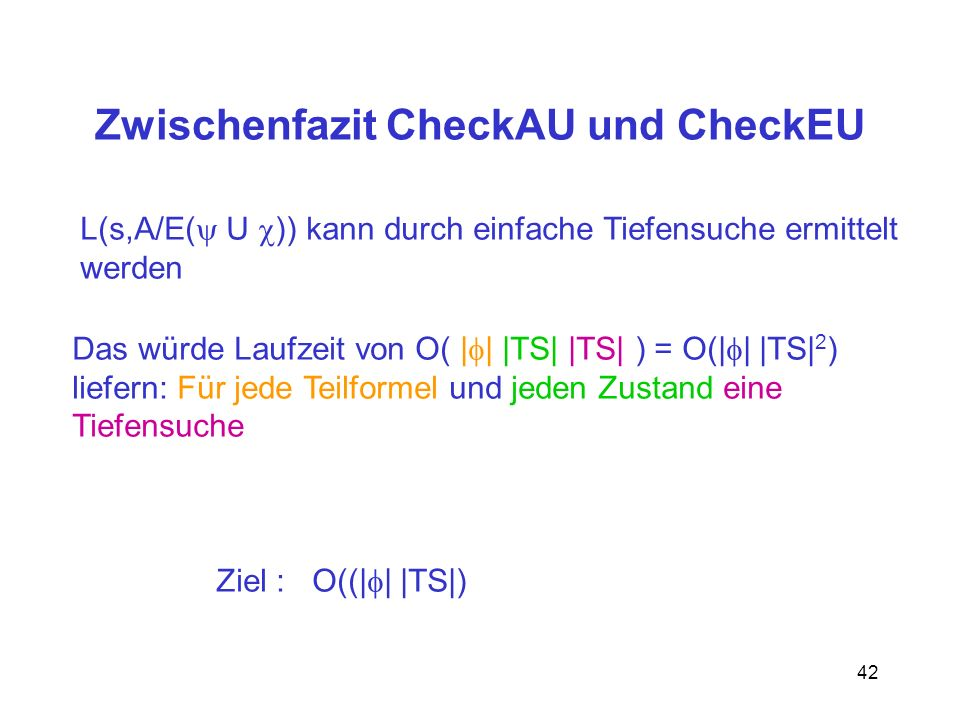 Zwischenfazit CheckAU und CheckEU