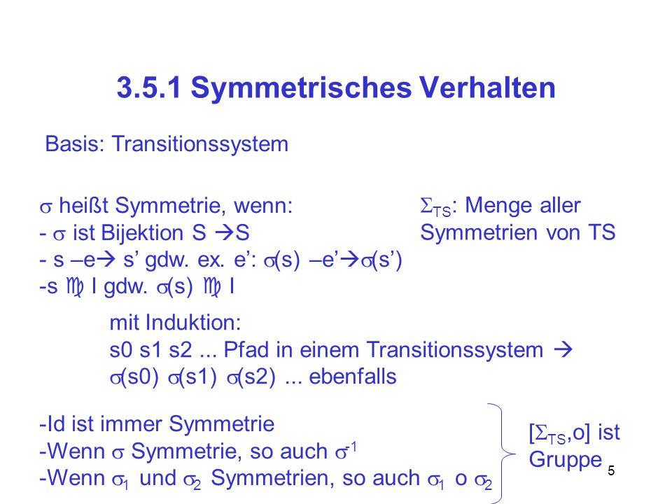 3.5.1 Symmetrisches Verhalten